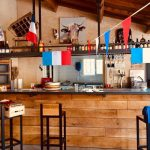 bar du camping La Roquette à Chateaurenard en Provence