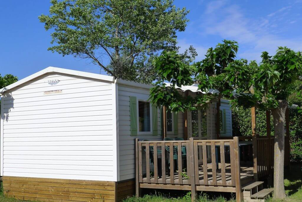 Mobile-home camping en Provence