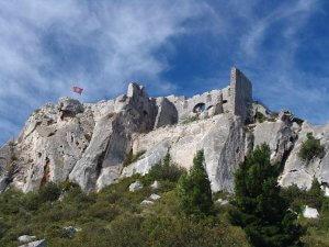 que voir au château des baux de Provence