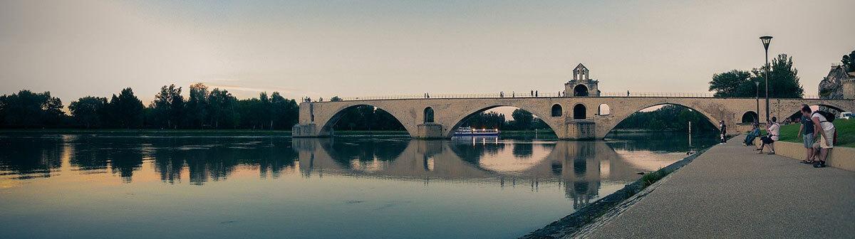 visiter le pont d'Avignon