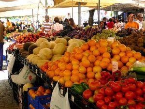 marché en Provence